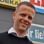 Porträt Stephan Lindenberg, Edeka Lindenberg, Verein Zukunft Resi-rundherum